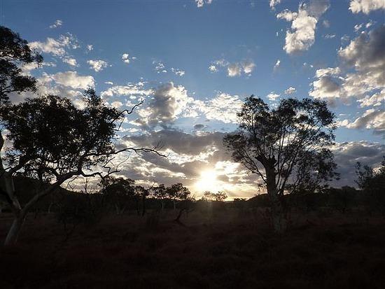 Sunset over Karinjini