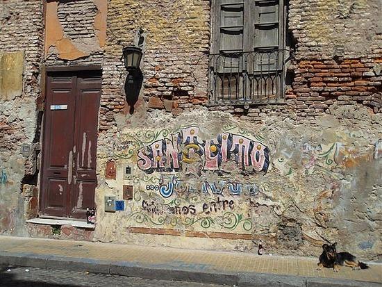 San Telmo Grafitti