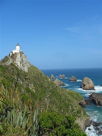 Lighthouse, Nugget Point, The Catlins