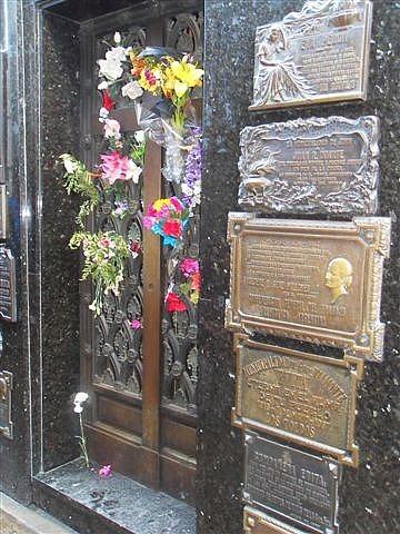 Evita's Grave La Recoleta