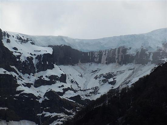 Mount Tronodor Glacier