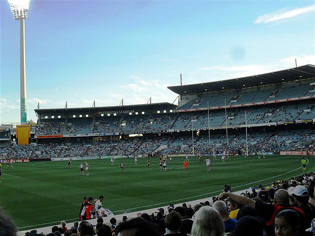 My First Aussie Rules Game