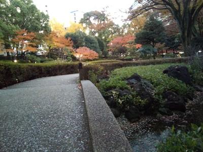 Zen garden near Chinatown