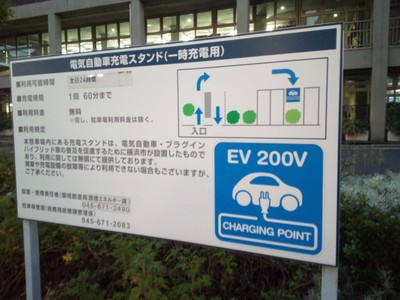 Car charging near Chinatown