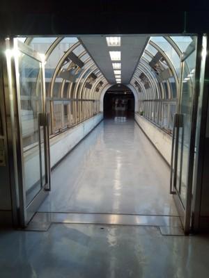 Corridor at the Ota Market