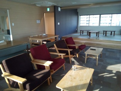 The tenth floor lounge at The Stay Sapporo