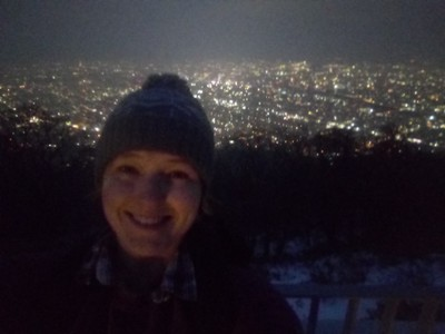 Selfie over Sapporo