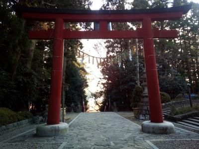 Exiting Osaki Hachimangu