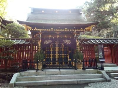 The main Zuihoden gate, called Nirvana