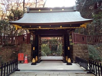 Gate at Osaki Hachimangu